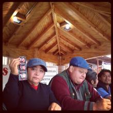 Brigada Callejera en Cherán, Michoacán.