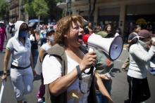 Krizna, activista de la Red Mexicana de Trabajo Sexual